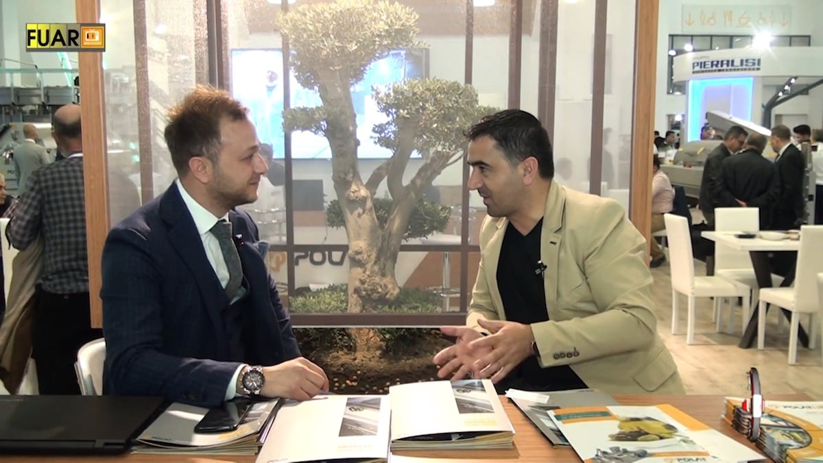 Interview with Polat Makina General Manager Mr. Volkan Polat